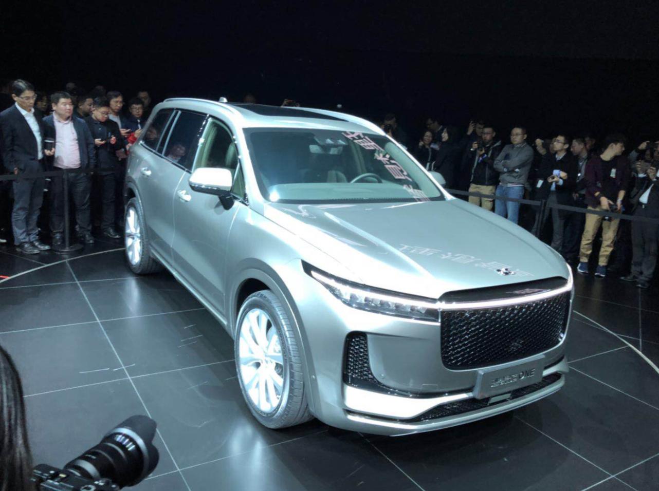没有里程焦虑的智能电动车 理想智造ONE 正式发布