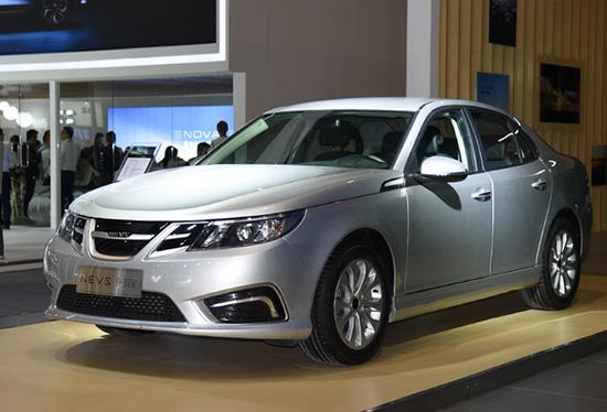 国能新能源首款电动汽车NEVS 9-3EV年底正式上市 续航355km