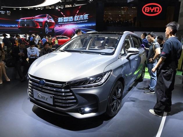 比亚迪宋MAX插电混动版车型或广州车展开启预售 1.5T+双电机