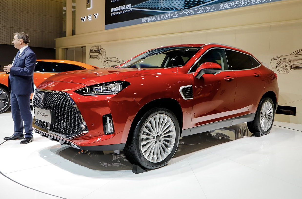 广州车展上WEY P8 GT正式亮相 预2019上半年上市