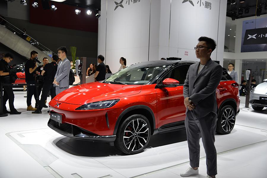 广州车展实拍小鹏G3 即将上市值得期待吗?