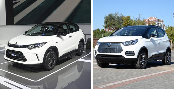居家小型SUV的对比 理念VE-1&比亚迪元EV360你更青睐谁?