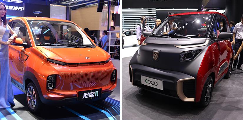 城市代步小精灵 长安欧尚尼欧II&宝骏E200谁更吸引你?