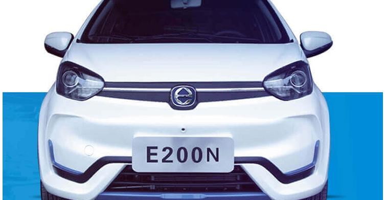 EVES2018新能源汽车评选 江铃E200获年度最受关注微/小型电动轿车