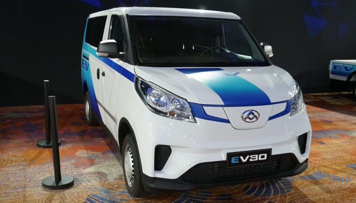 大通EV30纯电动物流车正式上市  售价12.69万起