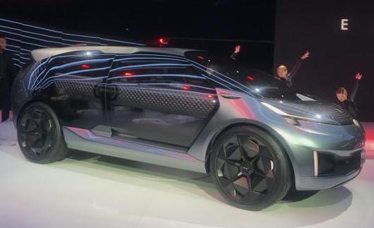 广汽传祺ENTRANZE概念车 亮相2019北美车展