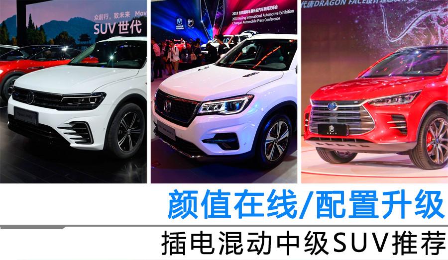 颜值在线/配置升级 插电混动中级SUV推荐