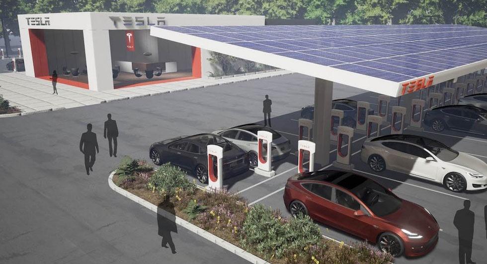 特斯拉充电桩增速缓慢 未来服务堪忧