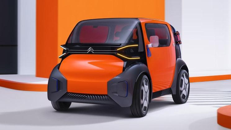 雪铁龙AMI ONE概念车官图 将于日内瓦首发