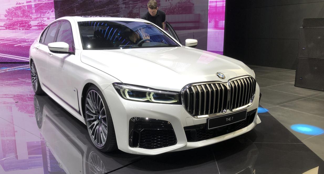 2019日内瓦车展 全新宝马7系混动车型正式发布