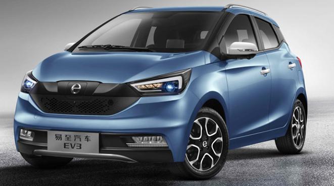 江铃易至EV3 将于明日正式上市 将推出四款车型