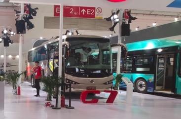 引领绿色智行风尚  比亚迪亮相北京道路运输车辆展