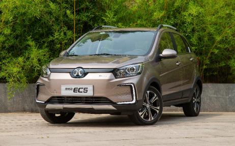 實力派純電SUV是如何煉成的? 北汽新能源EC5實拍解析