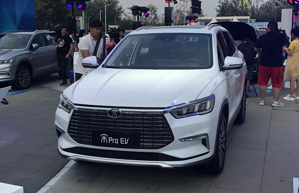 推三种动力车型  比亚迪宋Pro正式上市 售价8.98万起