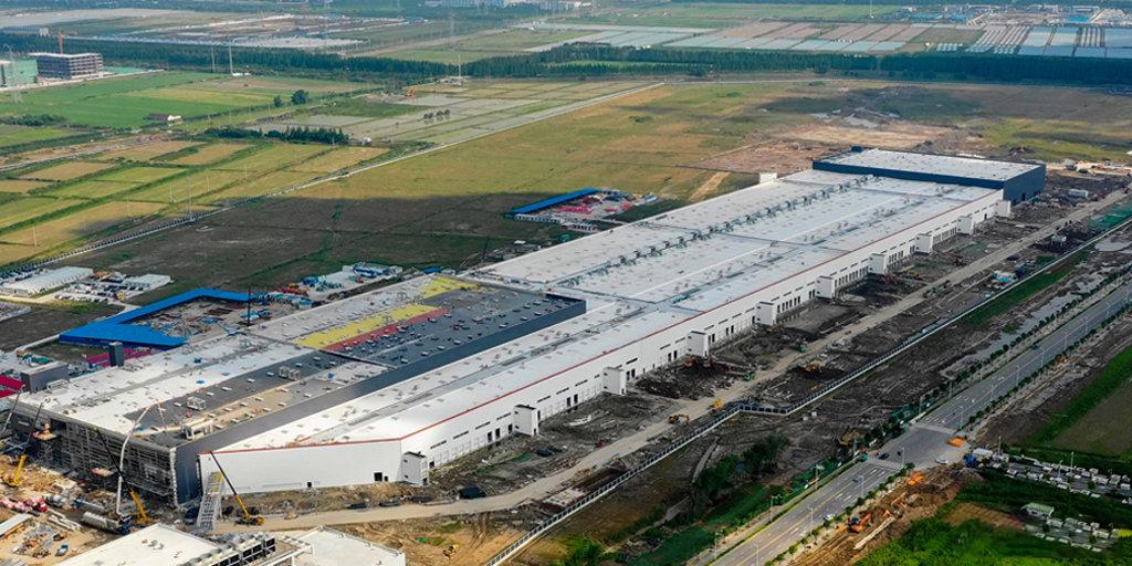 特斯拉上海工廠最新進展 建成後產能將達50萬輛