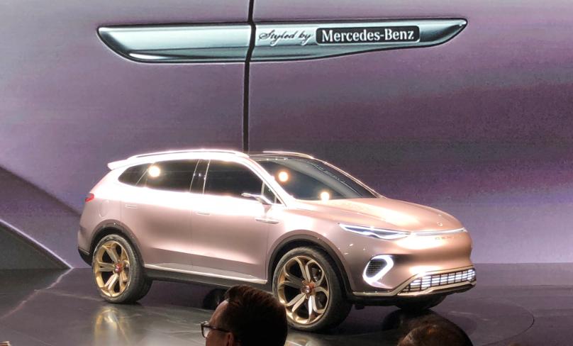 騰勢全新7座SUV Concept X 量產版 內飾諜照圖曝光