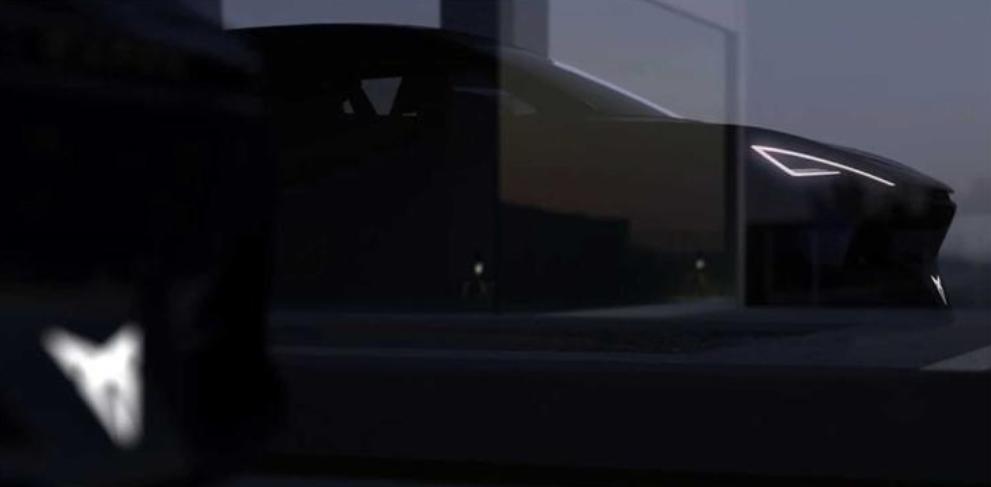 造型科幻 Cupra電動概念車內飾圖曝光