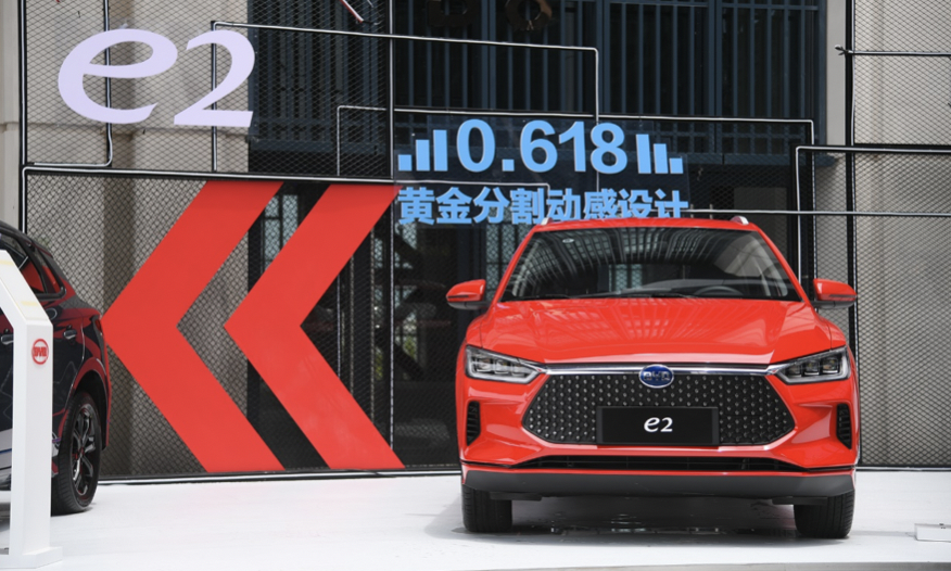 年輕人的首台車和家庭的第二台車,比亞迪e2上市!