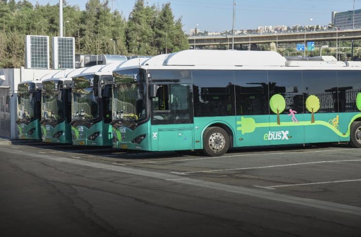 全球电动化浪潮全面开启 比亚迪大巴驶入以色列活力圣城