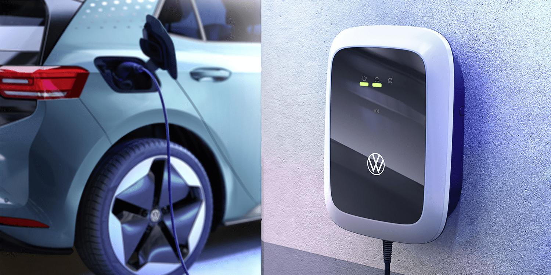 大众发布3款壁挂式充电器 最大充电容量约为11kW