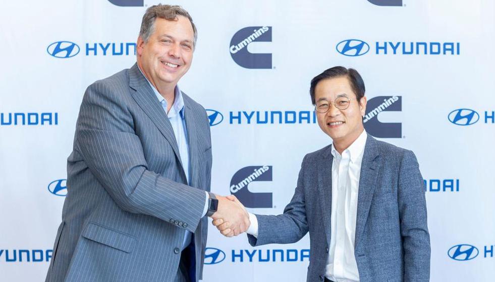 现代与康明斯合作 发力氢燃料汽车领域