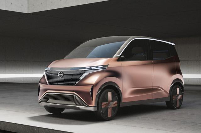日产IMk Concept纯电动概念车 将于东京车展发布