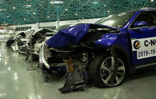 2019年度C-NCAP第三批评价结果发布 MARVEL X获电动车组第一