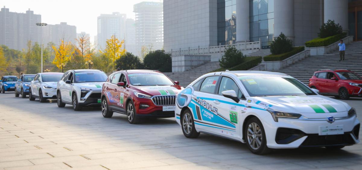 2019中国新能源汽车大赛 西安站参赛车辆成绩汇总