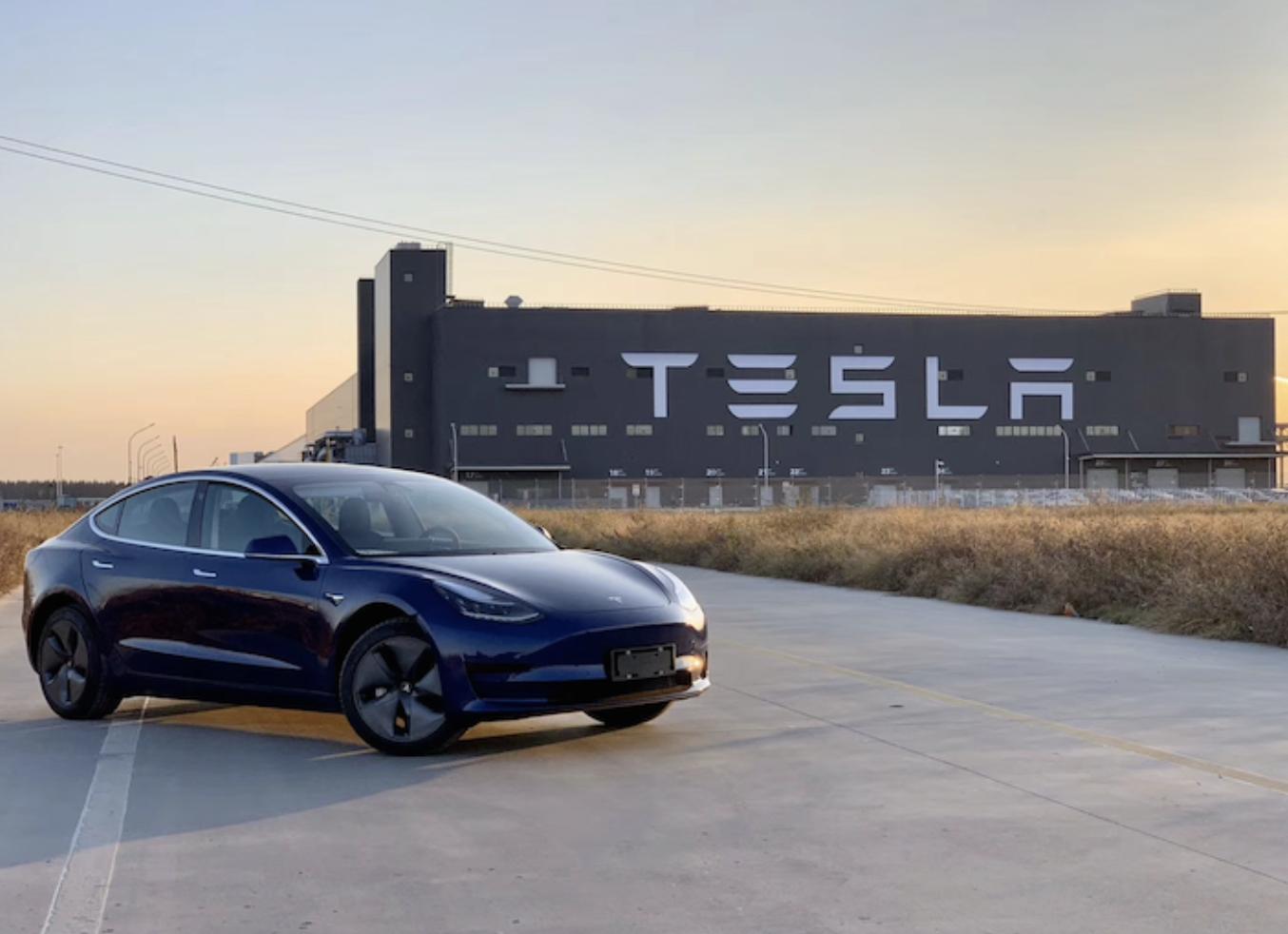 特斯拉中国制造Model 3即将全面到店