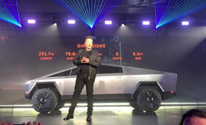 特斯拉電動皮卡正式發布 售價3.99萬美元起