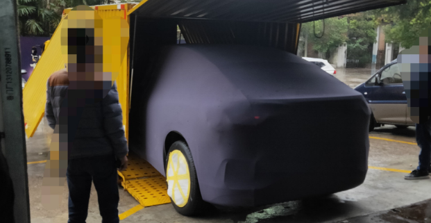或在NIO DAY首發 蔚來全新轎跑SUV諜照曝光