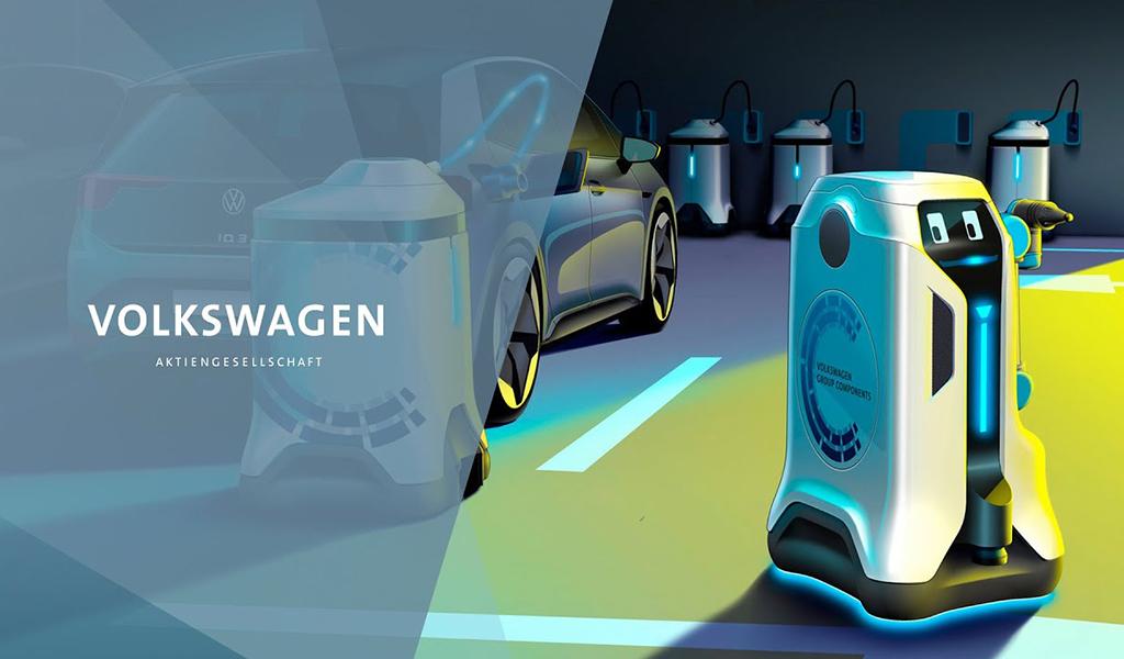 大众发布充电机器人 直流充电功率可达50kW