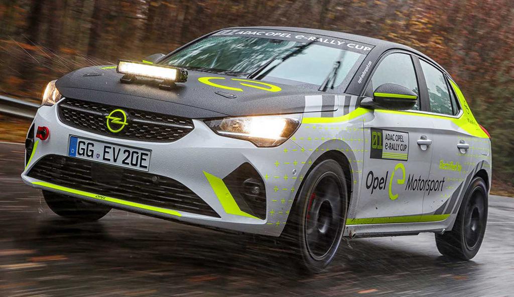 欧宝纯电动拉力赛车Corsa e-Rally进入测试流程