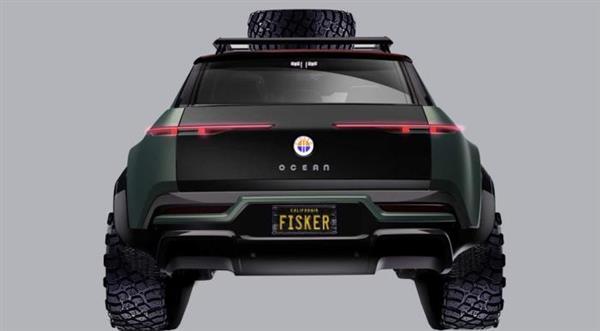 Fisker Ocean越野版车型曝光 有望2021年亮相