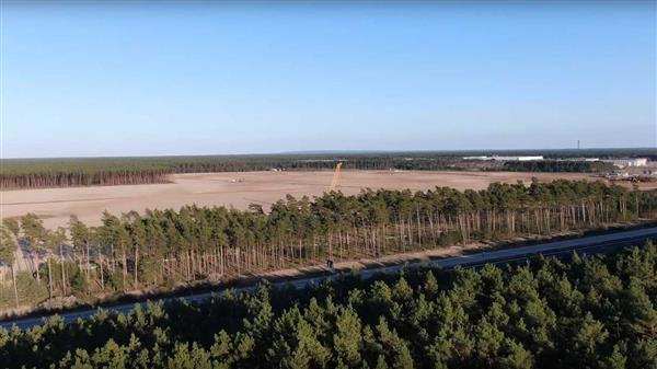 德国Gigafactory 4工地完成平整,特斯拉等待施工许可