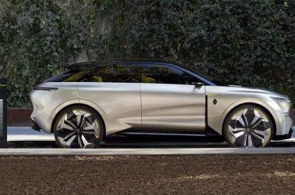 售价人民币28.4万元  雷诺将推纯电动紧凑SUV