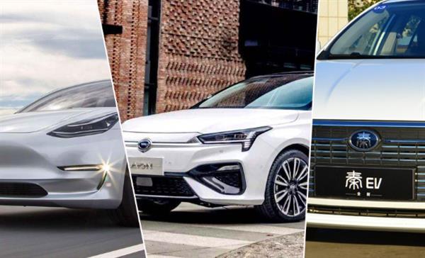 4月熱銷新能源車型排行  誰是你的菜?