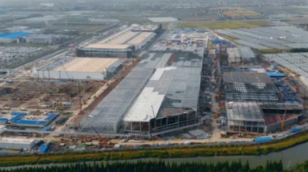 特斯拉上海工廠二期封頂 Model Y或提前量產