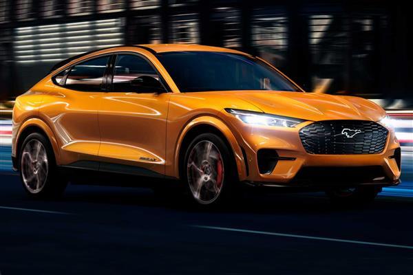 福特Mustang Mach-E GT将推出专属车身颜色