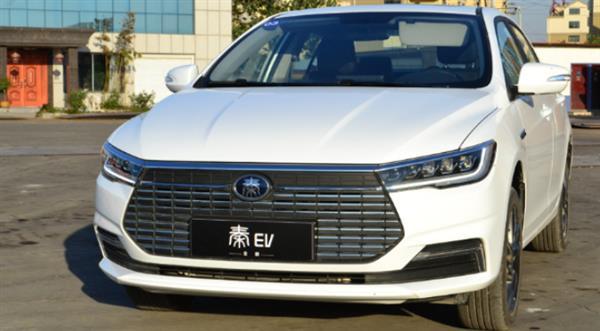 續航有所提高 全新秦EV磷酸鐵鋰電池版車型曝光