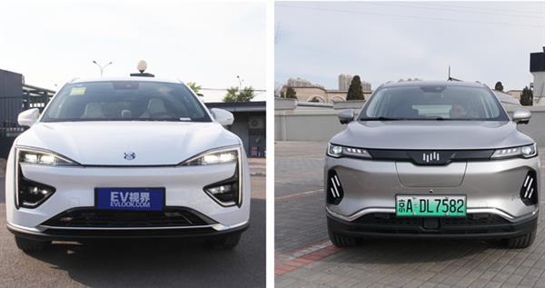 中型纯电SUV对决 合创HYCAN 007对比威马EX6 Plus