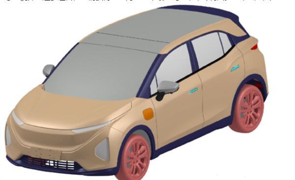 定位小型SUV  海馬最新電動車型專利圖曝光