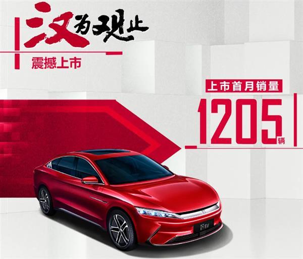 比亚迪7月纯电动乘用车销量同比增长9.95%