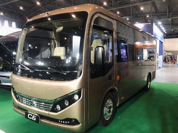 比亚迪亮相成都国际新能源汽车展 全新商用车型悉数登场