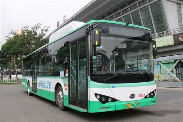 88台比亚迪纯电动客车交付镇江 涉及比亚迪K8、K9两款车型