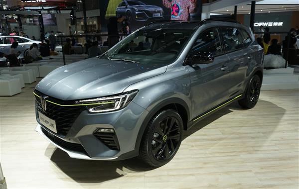 2020北京车展探馆:上汽荣威RX5 ePLUS实车登陆北京车展