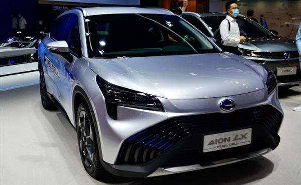 2020北京车展:广汽Aion LX Fuel Cell亮相