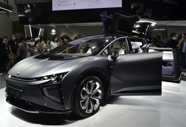2020北京车展:高合HiPhi X创始版展台实拍