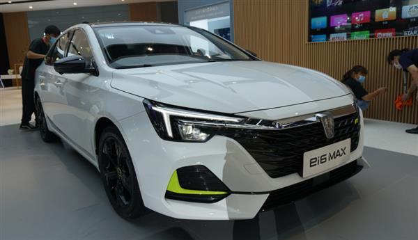 2020北京车展:上汽荣威ei6 MAX展台实拍