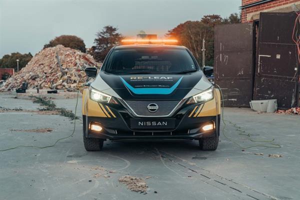日产RE-LEAF概念车发布 提供灾害应急供电